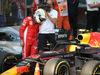 GP CINA, 15.04.2018- Parc ferme, Sebastian Vettel (GER) Ferrari SF71H take a look to Max Verstappen (NED) Red Bull Racing RB14