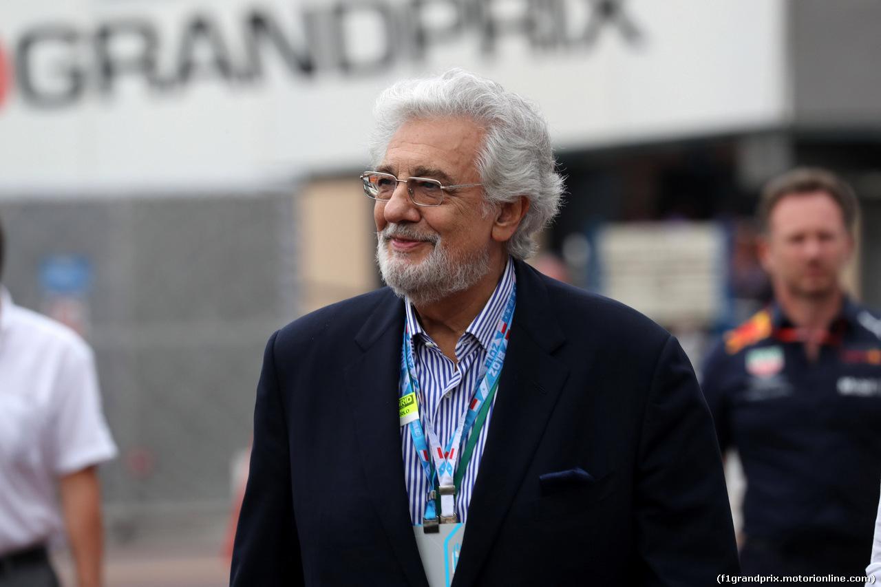 GP MONACO, 27.05.2018 - Gara, Placido Domingo (ESP)