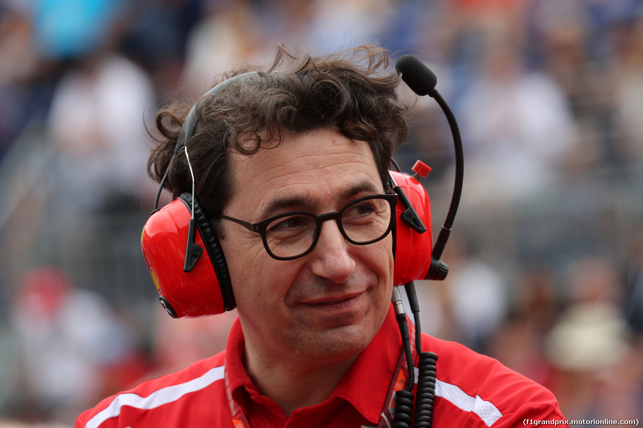 GP MONACO, 27.05.2018 - Gara, Mattia Binotto (ITA) Chief Technical Officer, Ferrari