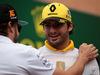 GP MONACO, 27.05.2018 - Fernando Alonso (ESP) McLaren MCL33 e Carlos Sainz Jr (ESP) Renault Sport F1 Team RS18