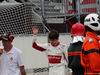 GP MONACO, 27.05.2018 - Gara, Charles Leclerc (MON) Sauber C37 retires from the race