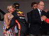 GP MONACO, 27.05.2018 - Gara, S.A.S La Princesse Charlene De Monaco e Sebastian Vettel (GER) Ferrari SF71H