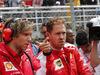 GP SPAGNA, 13.05.2018 - Gara, Antti Kontsas (FIN) Sebastian Vettel Personal Trainer e Sebastian Vettel (GER) Ferrari SF71H