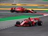 GP SPAGNA, 12.05.2018 - Free Practice 3, Sebastian Vettel (GER) Ferrari SF71H davanti a Kimi Raikkonen (FIN) Ferrari SF71H