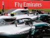 GP SPAGNA, 12.05.2018 - Qualifiche, 2nd place Valtteri Bottas (FIN) Mercedes AMG F1 W09 e Lewis Hamilton (GBR) Mercedes AMG F1 W09 pole position