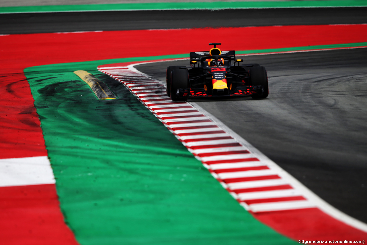 TEST F1 BARCELLONA 16 MAGGIO, Max Verstappen (NLD) Red Bull Racing RB14. 15.05.2018.