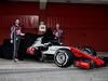 TEST F1 BARCELLONA 26 FEBBRAIO, (L to R): Romain Grosjean (FRA) Haas F1 Team e Kevin Magnussen (DEN) Haas F1 Team reveal the Haas VF-18. 26.02.2018.
