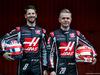 TEST F1 BARCELLONA 26 FEBBRAIO, (L to R): Romain Grosjean (FRA) Haas F1 Team with Kevin Magnussen (DEN) Haas F1 Team. 26.02.2018.