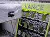 TEST F1 BARCELLONA 28 FEBBRAIO, Track Atmosfera with snow 28.02.2018.