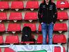 TEST F1 BARCELLONA 6 MARZO, A Sergio Perez (MEX) Sahara Force India F1 fan. 06.03.2018.