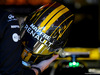 TEST F1 BARCELLONA 6 MARZO, Helmet of Nico Hulkenberg (GER) Renault Sport F1 Team  06.03.2018.