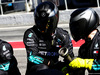 TEST F1 BARCELLONA 7 MARZO, Mercedes AMG F1 meccanici practice a pit stop. 07.03.2018.