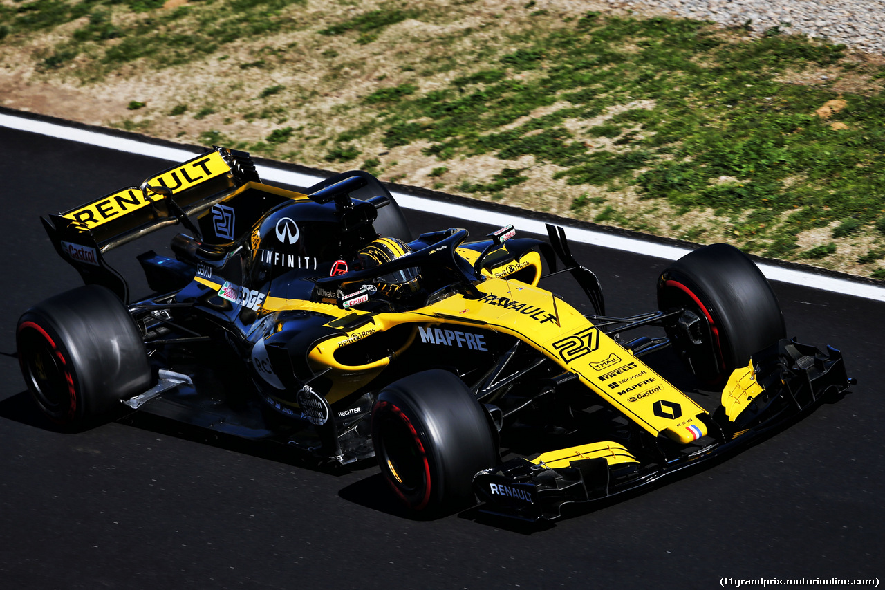 TEST F1 BARCELLONA 7 MARZO, Nico Hulkenberg (GER) Renault Sport F1 Team RS18. 07.03.2018.