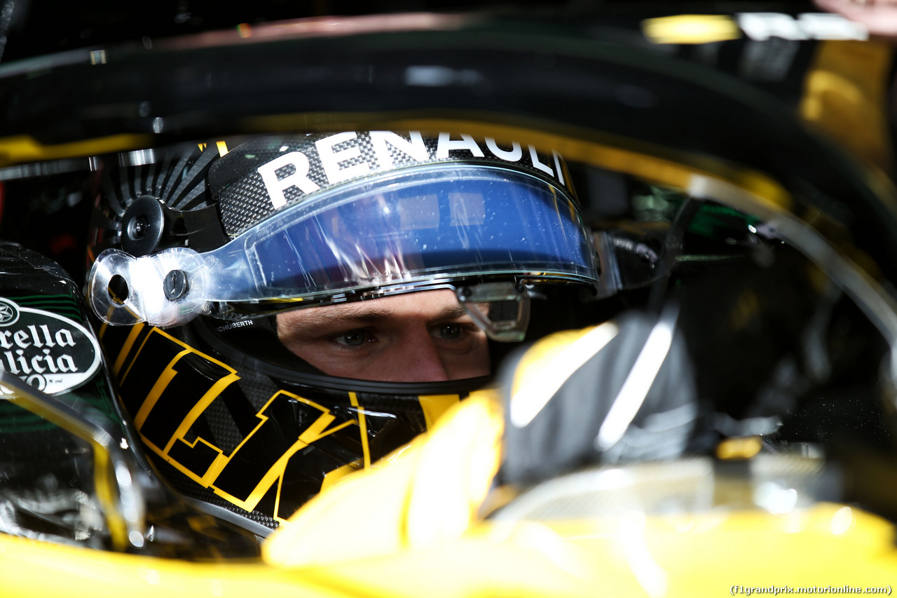 TEST F1 BARCELLONA 8 MARZO, Nico Hulkenberg (GER) Renault Sport F1 Team RS18. 08.03.2018.