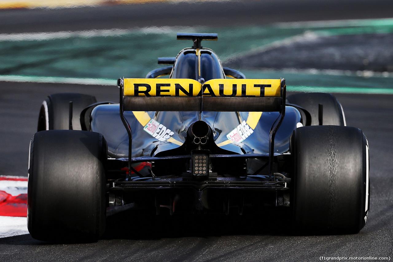 TEST F1 BARCELLONA 8 MARZO, Carlos Sainz Jr (ESP) Renault Sport F1 Team RS18. 08.03.2018.