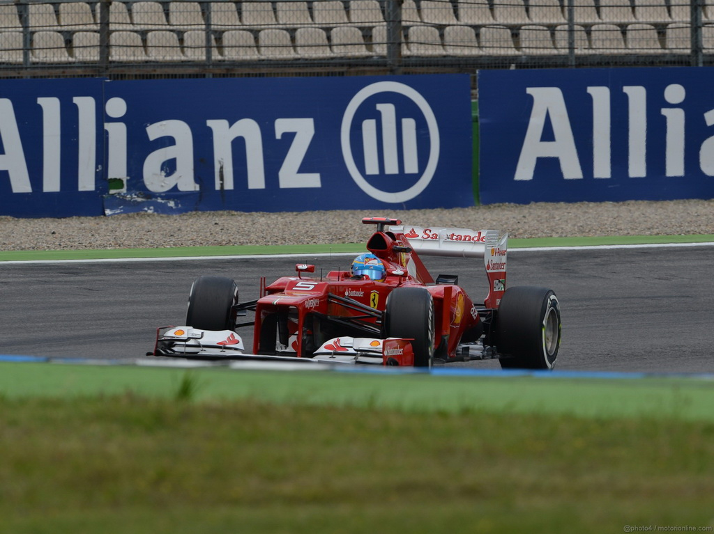 Fernando Alonso Ferrari F1 ganador del GP de Alemania Hockenheim Winner GP Germany F1