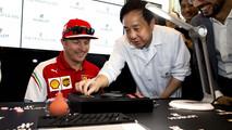 Ferrari al Gran Premio di Singapore 2014