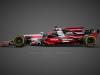 Audi F1 Rendering Livree