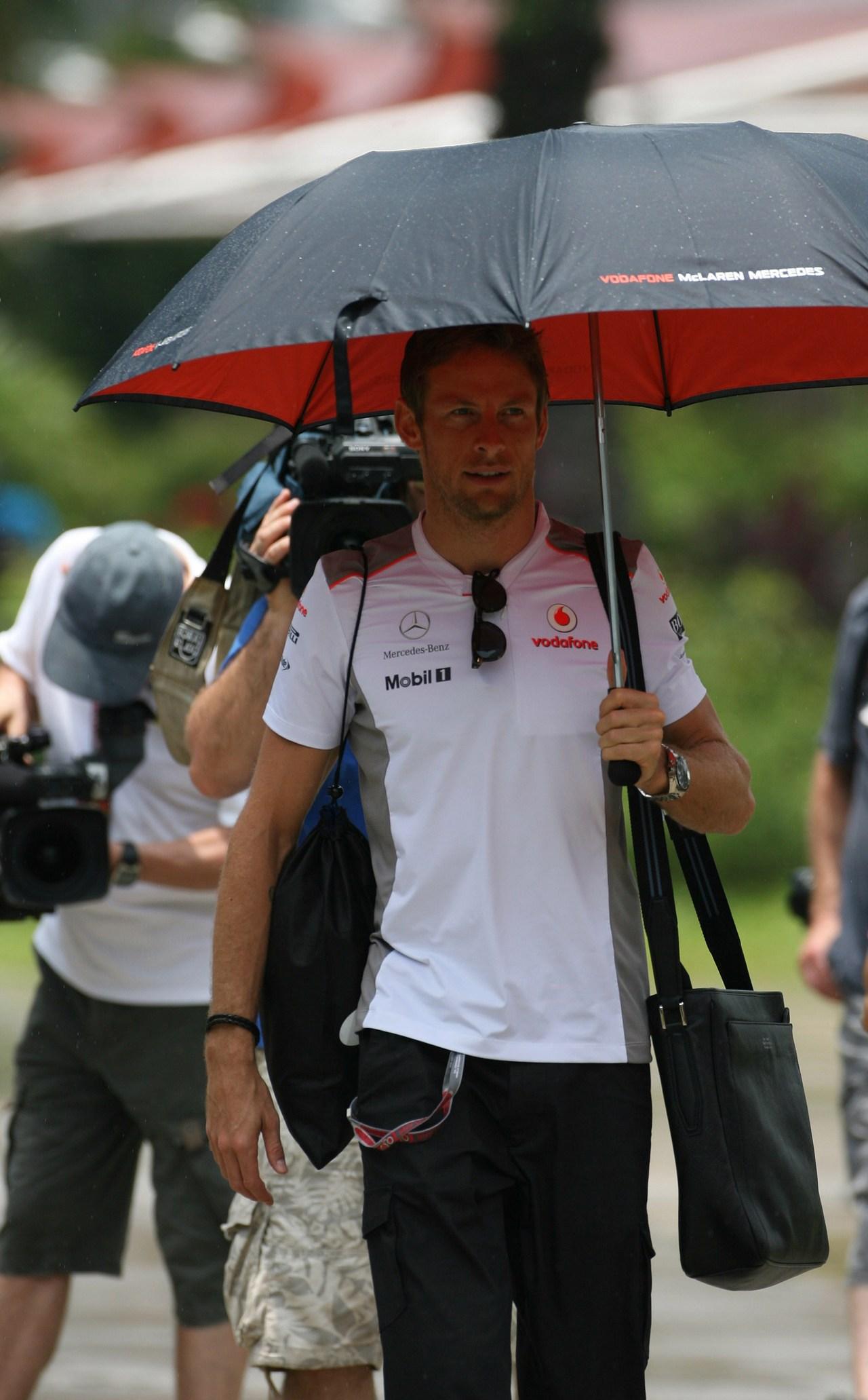 22.03.2012- Jenson Button (GBR) McLaren Mercedes MP4-27