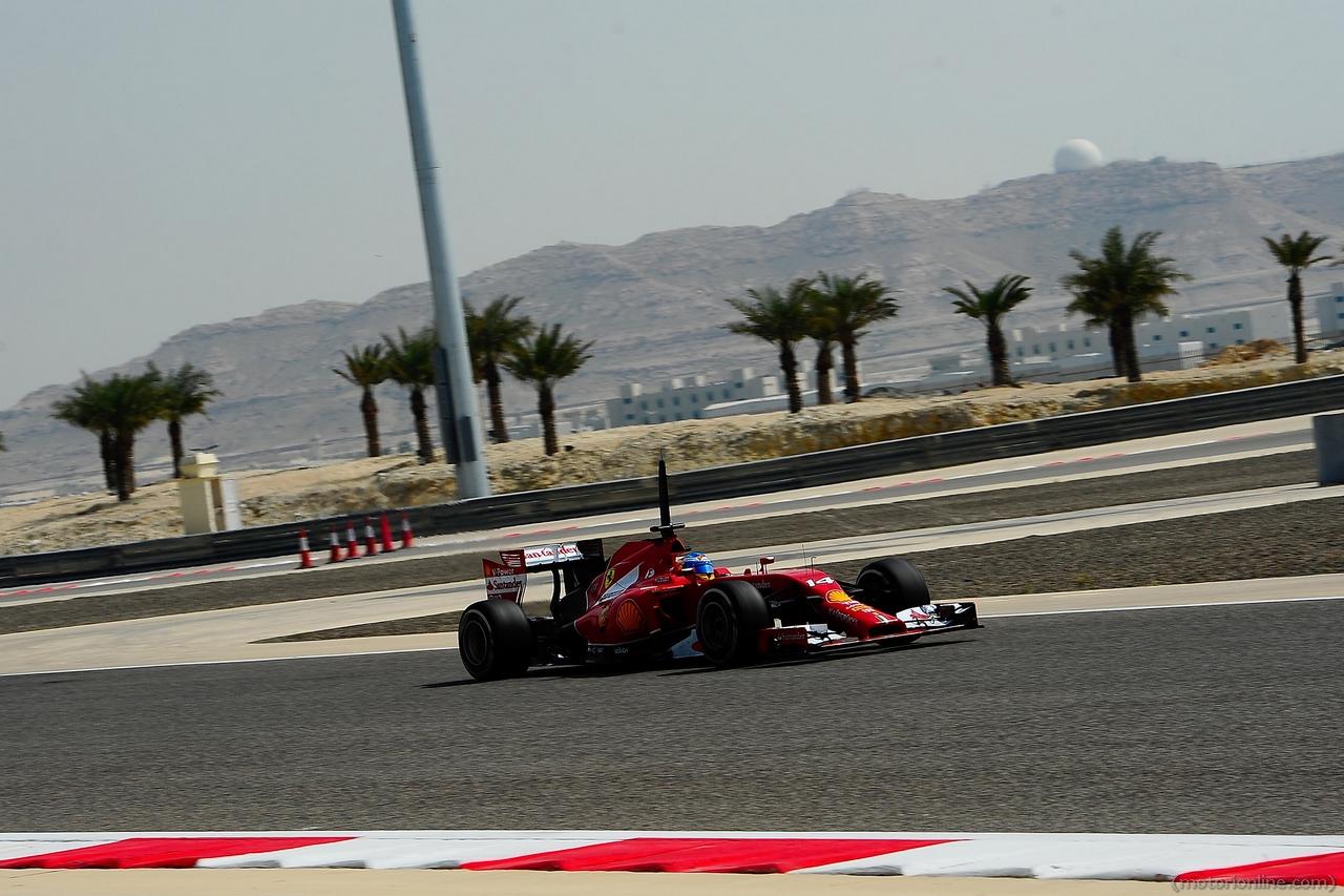 Ferrari F1 Test Bahrain 28 Febbraio 2 Marzo 2014