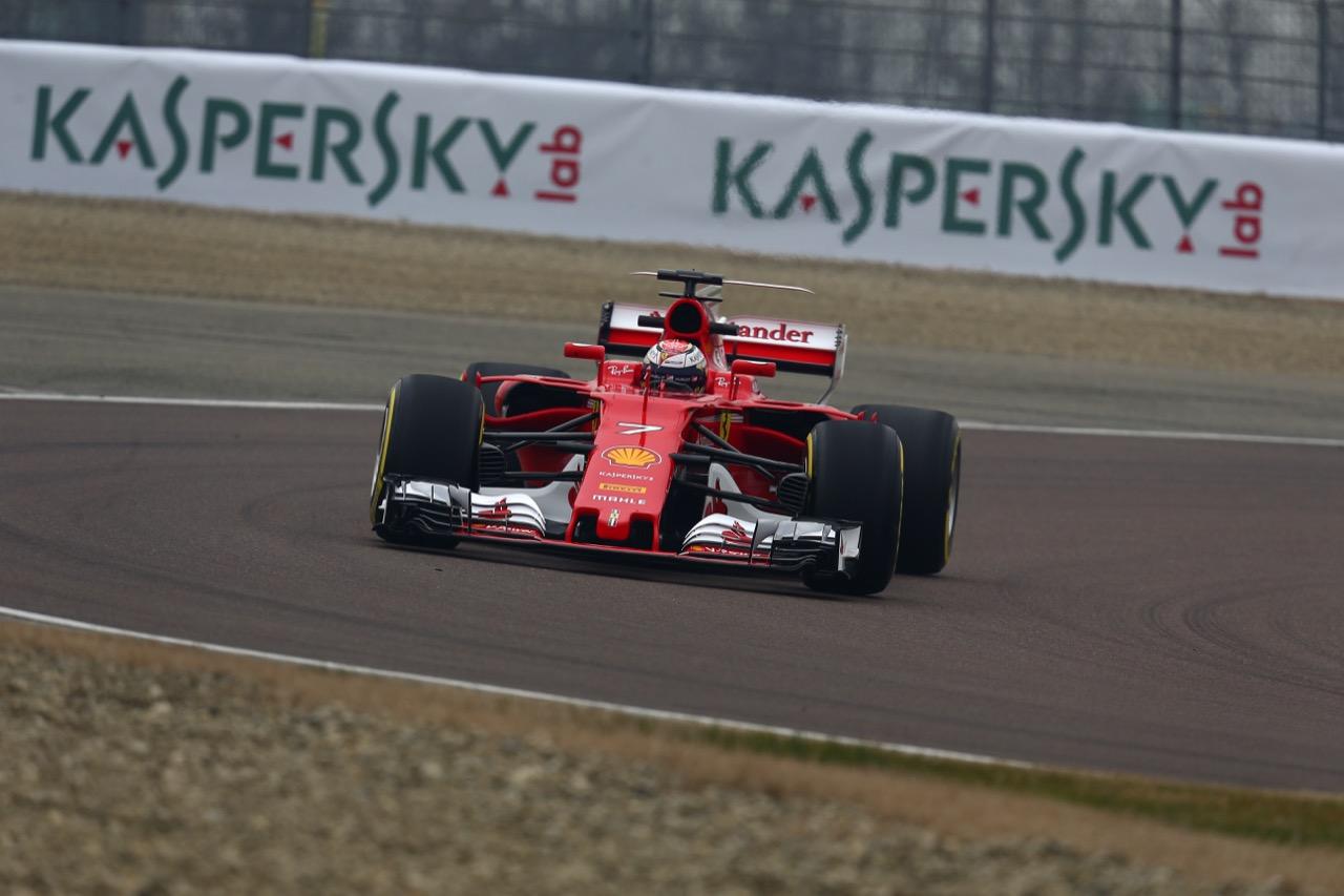 Kimi Raikkonen (FIN) Scuderia Ferrari SF70H