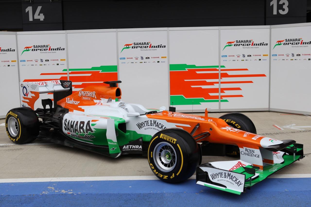 Force India VJM05 F1 2012