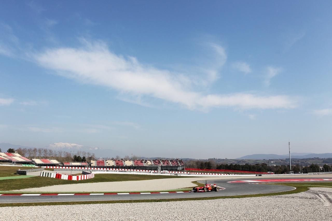 Formula 1 Test F1 A Barcellona Spagna 02 03 2013 Foto