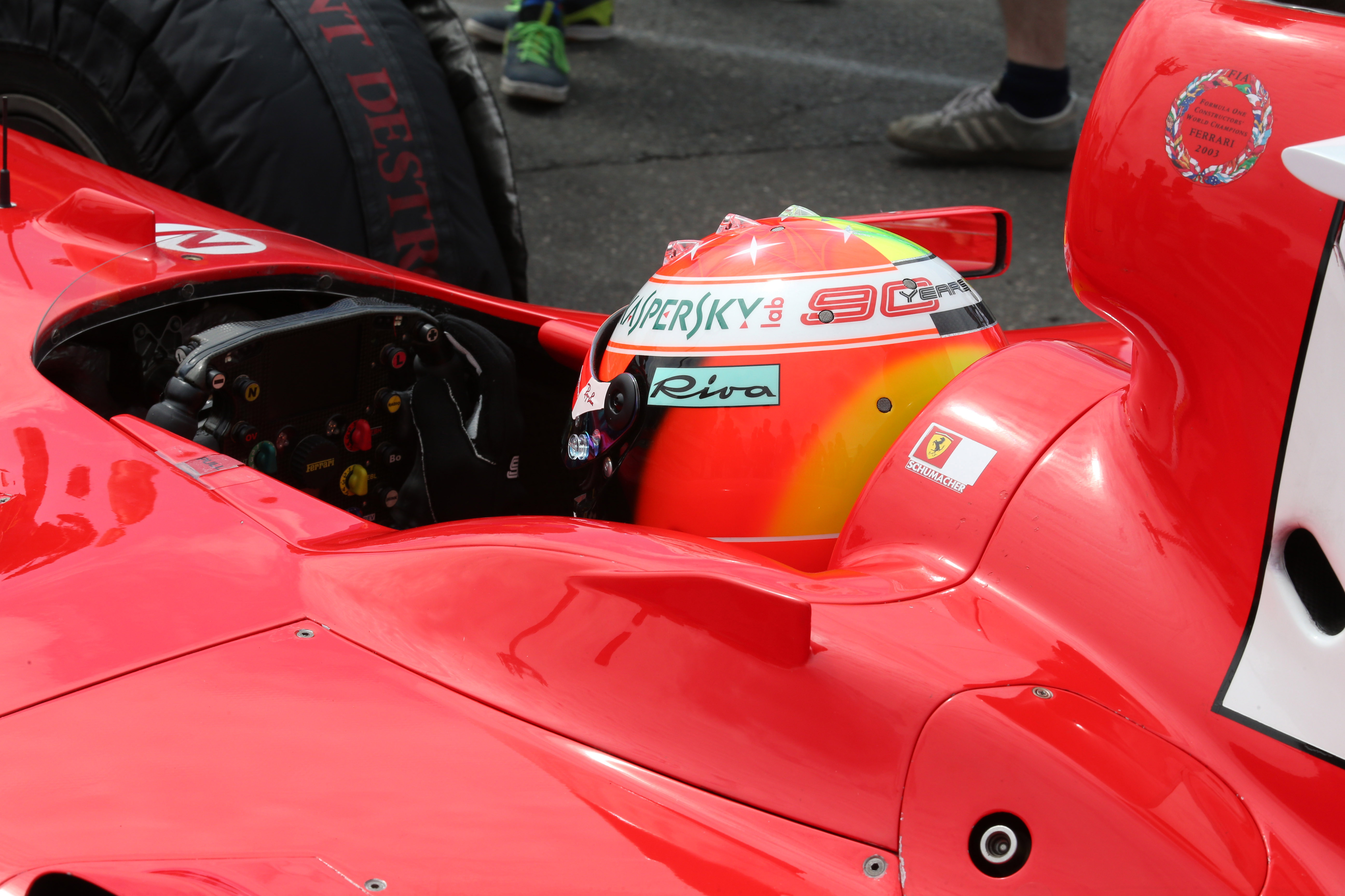 Mick Schumacher F2004 - GP Germania, Hockenheim