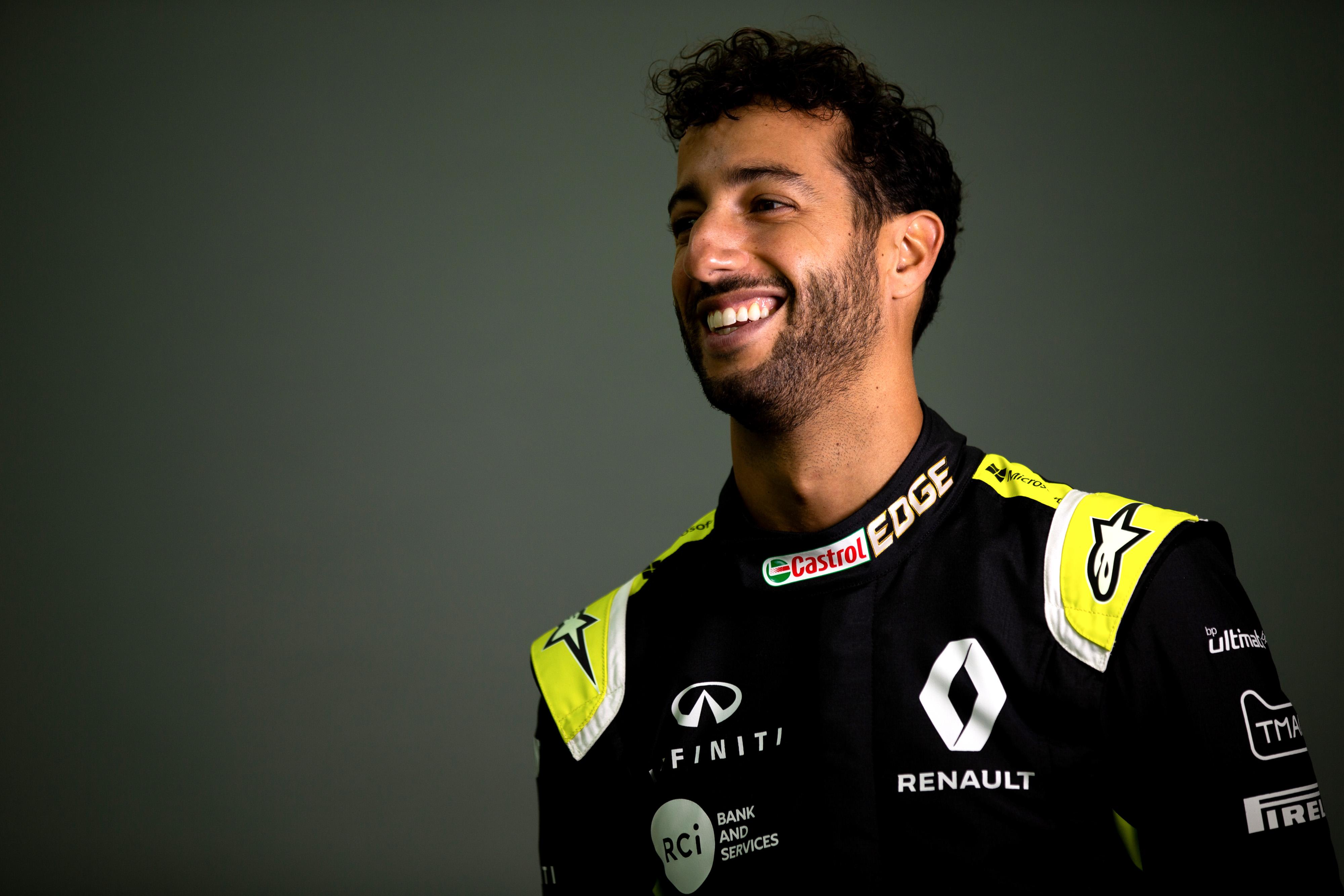 Daniel Ricciardo (AUS) -   Renault F1 Team. 27th-28th January 2020. Enstone England.
