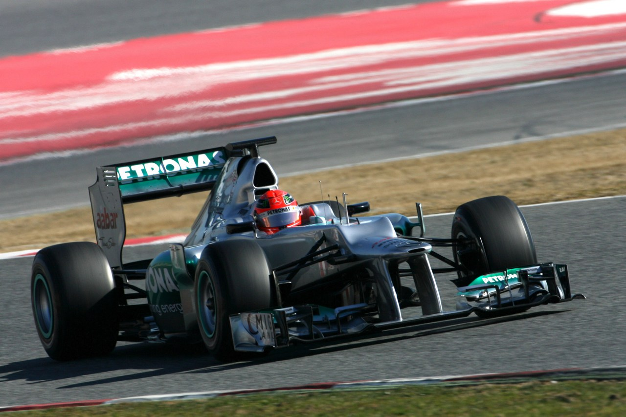 Mercedes gp formula 1 testing day 3 formula 1 world chionship
