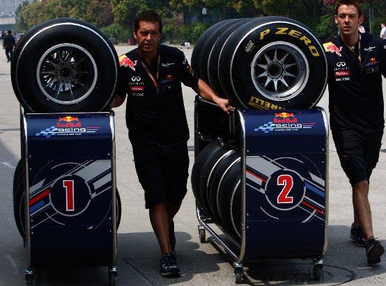 Pirelli: Il GP della Cina dal punto di vista degli pneumatici