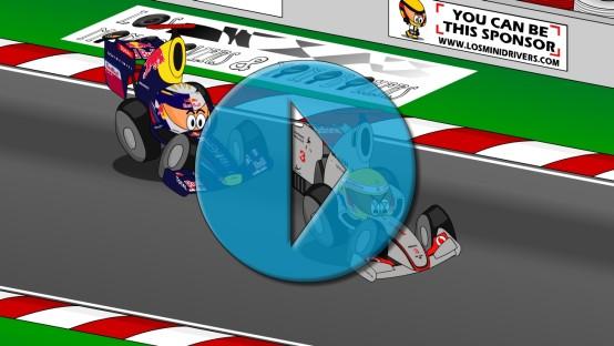 F1 Minidrivers: GP della Cina 2011 [Video]