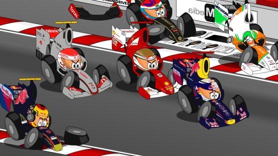 F1 Minidrivers: Gp di Montecarlo 2011 [Video]