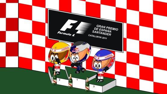 F1 Minidrivers: Gp di Spagna 2011 [Video]