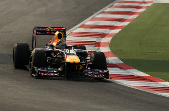 GP India, Vettel in pole position