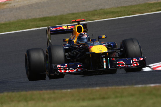 GP Giappone: Vettel in pole position davanti a Button