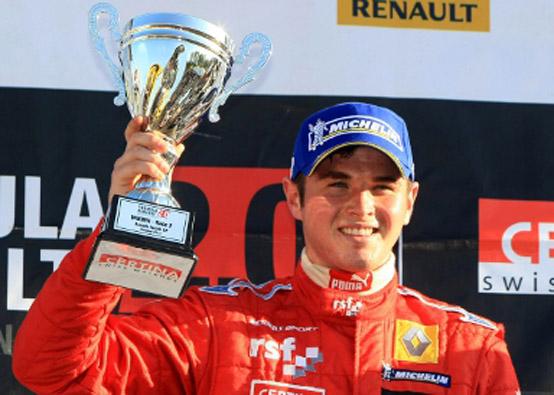 Oliver Rowland ha vinto un test con la McLaren