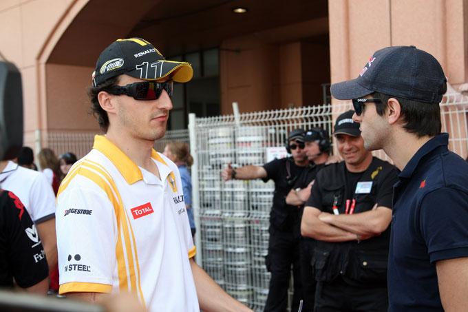 """Alguersuari: """"Kubica no puede conseguir una bebida en su mano para beber"""""""