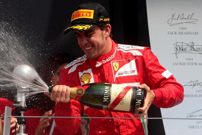 Alonso mi spiace non aver vinto ma abbiamo conquistato - Posto con molti specchi ...