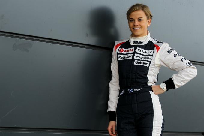 Susie Wolff si mette alla prova con una Williams FW33