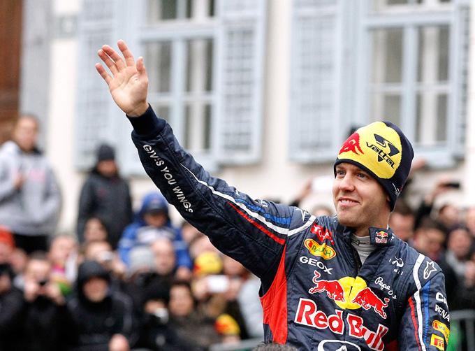 Vettel nominato atleta europeo del 2012