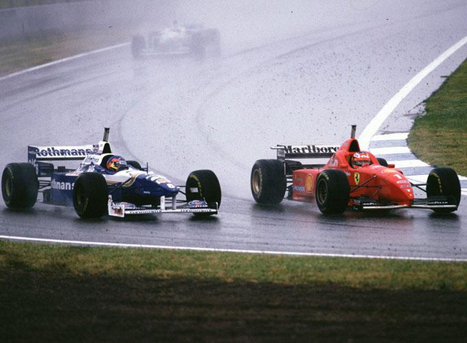 Gp di Spagna 1996: la prima del Kaiser in rosso