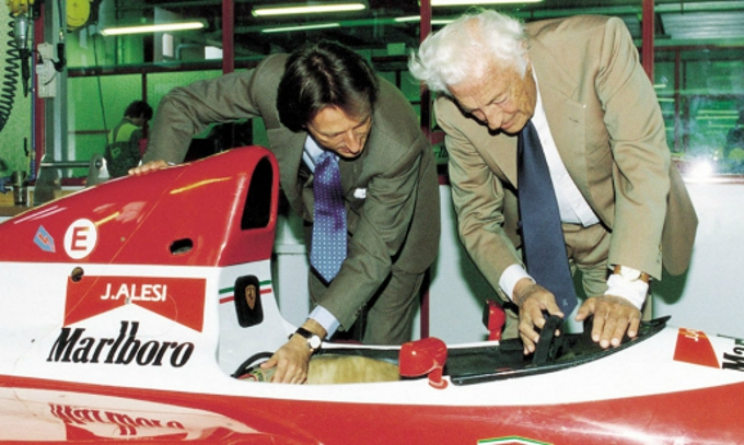 La Ferrari ricorda Gianni Agnelli