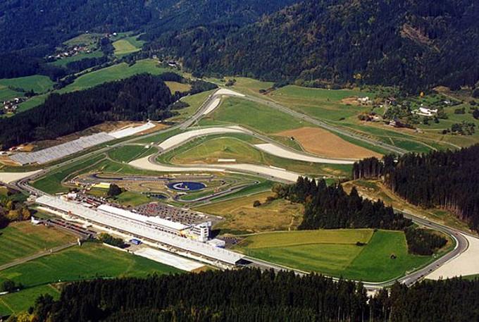 Circuito Formula 1 Austria : Il gp austria nel calendario di f news formula