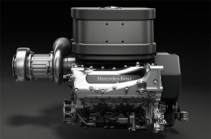 Il motore V6 Mercedes 2014 ha un vantaggio di 100 cavalli?