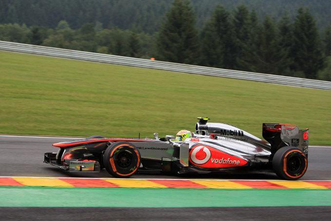 McLaren competitiva sul bagnato a Spa ma non sull'asciutto