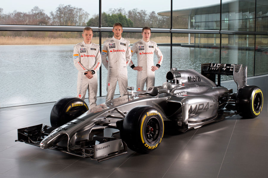 McLaren MP4-29: ecco la nuova vettura di Woking (Foto)