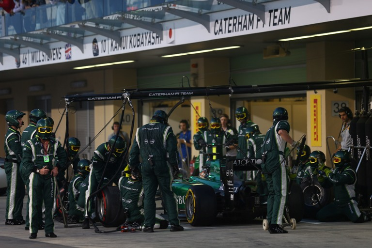 La Caterham messa all'asta