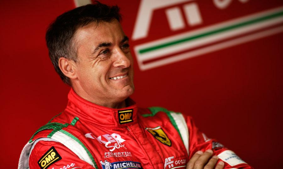 The 53-year old son of father (?) and mother(?), 170 cm tall Jean Alesi in 2017 photo