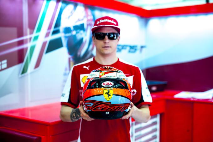 Ferrari: come nasce il casco di Kimi Raikkonen